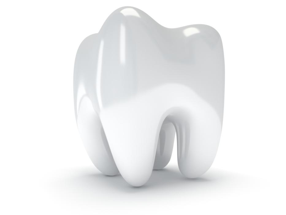 3d image of a brighter and whiter tooth after cosmetic dentistry houston tx