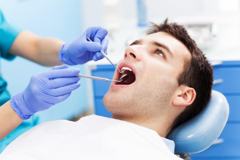 Patient getting an exam | general dentistry | Houston TX